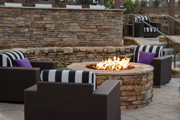 fire pit at 1000 Spalding Apartments