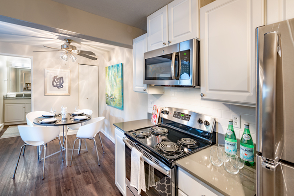 kitchen at 81 Fifty at West Hills Apartment Homes