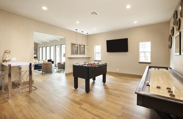 game room at Ravina Apartment Homes