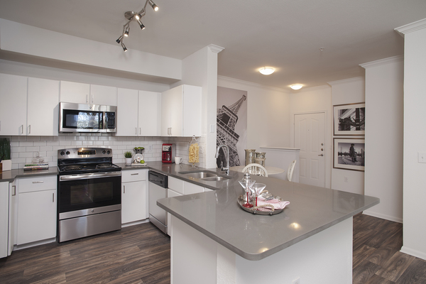 kitchen at Ravina Apartment Homes