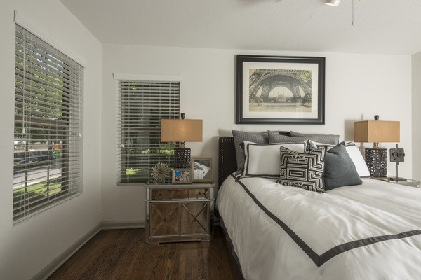 bedroom at Sunset Ridge Apartment Homes