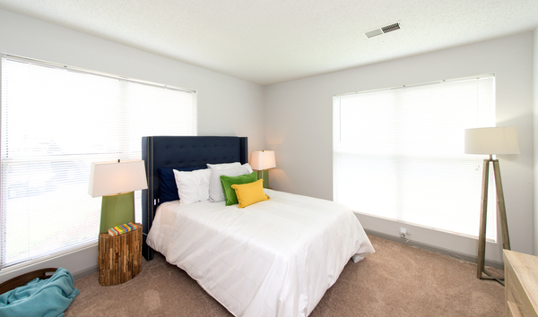 bedroom at Tech Center Square Apartments