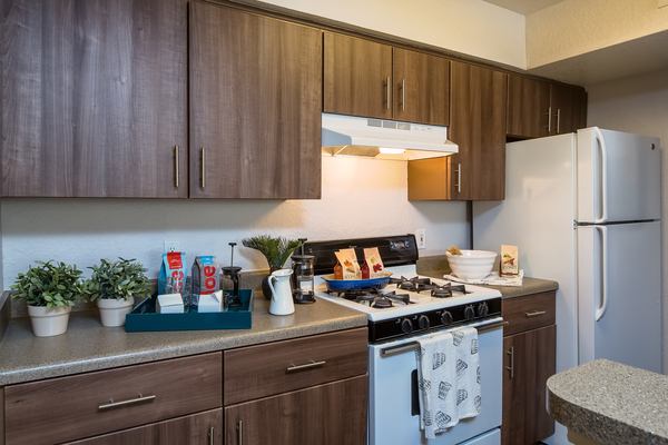 kitchen at The Terraces at Lake Mary Apartments