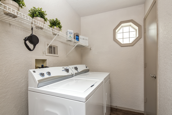 laundry room at The Terraces at Lake Mary Apartments