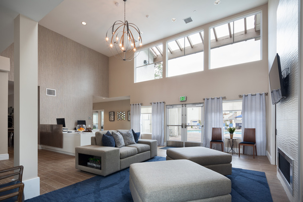 clubhouse at Bryant at Yorba Linda Apartments