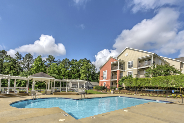 pool at Crosstown at Chapel Hill Apartments