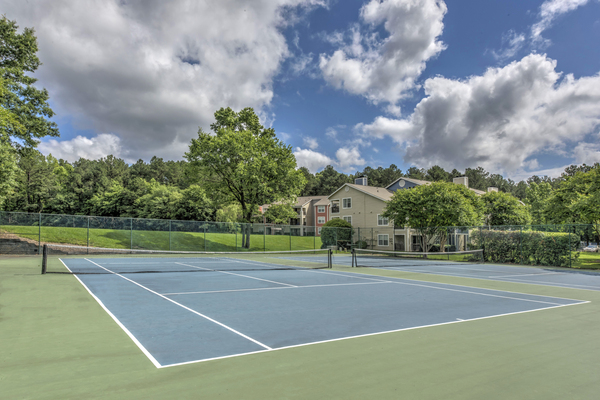 sport court at Crosstown at Chapel Hill Apartments