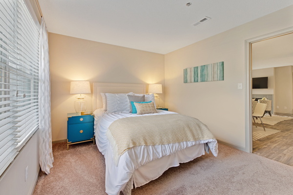 bedroom at Crosstown at Chapel Hill Apartments