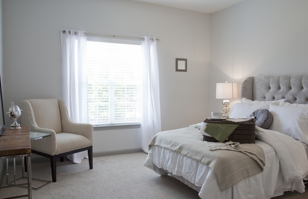 bedroom at Estates at Johns Creek Apartments