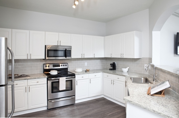 kitchen at Estates at Johns Creek Apartments