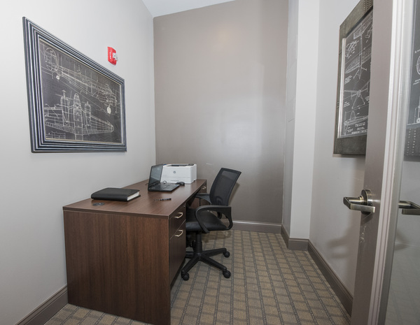 business center at Grand Reserve Apartments