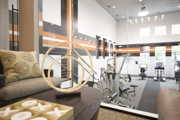 fitness center at Grand Reserve Apartments