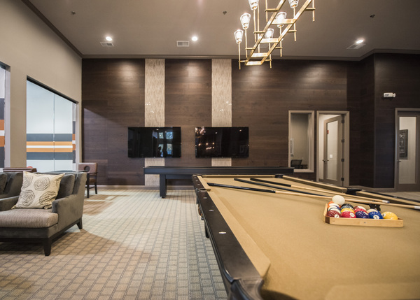 game room at Grand Reserve Apartments